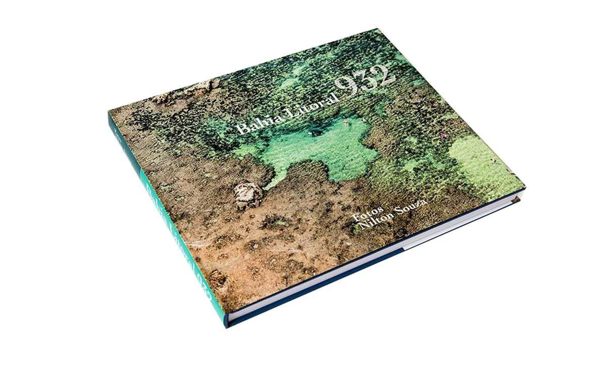 Bahia Litoral 932, livro com fotos áreas do fotógrafo Nilton Souza